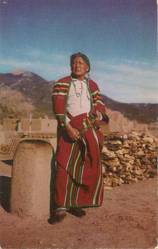 A Pueblo Indian from Taos New Mexico~~