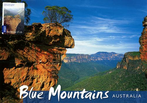 The Blue Mountains, west of Sydney