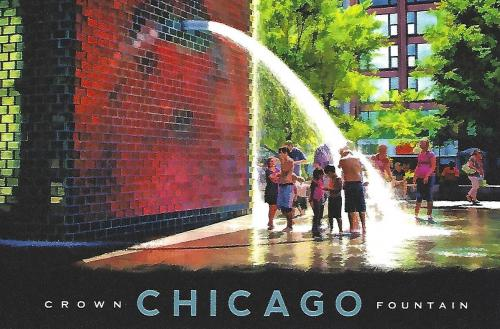 Chicago, Crown Fountain (United States of America)