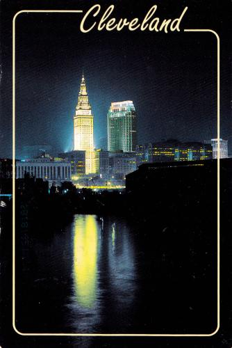 Ohio - Cleveland - Terminal Tower & Standard Oil Building