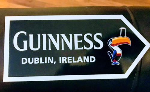 I love Guinness Stout; Dublin, Ireland; and postcards—so this was perfect, and much appreciated! ?