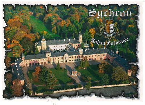 Sychrov Castle, near the village Sychrov in the Liberec Region of the Czech Republic, is a unique example of Neo-Gothic castle architecture from the second half of the 19th century with a large park surrounding the castle.