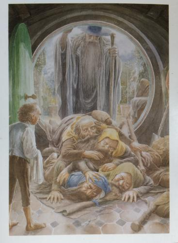 "The Hobbit, ""Thorin's Arrival"" - Alan Lee