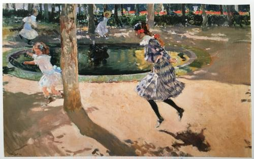 Skipping Rope, La Granja 1907.