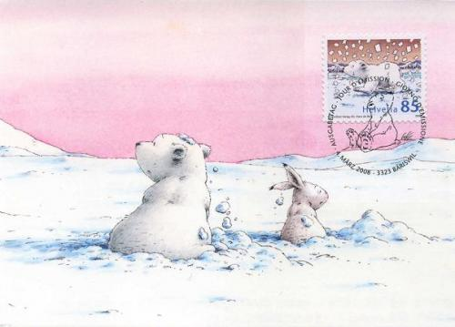 """Little Polar Bear and the Brave Little Hare"" by Hans de Beer"