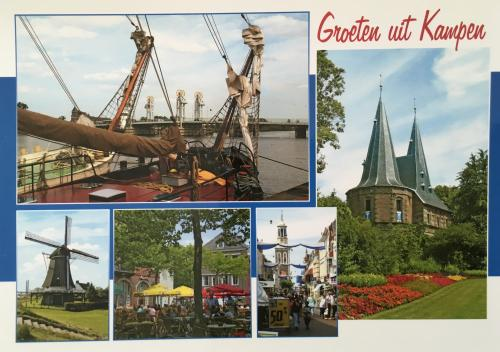 """The sceneries of Kampen""