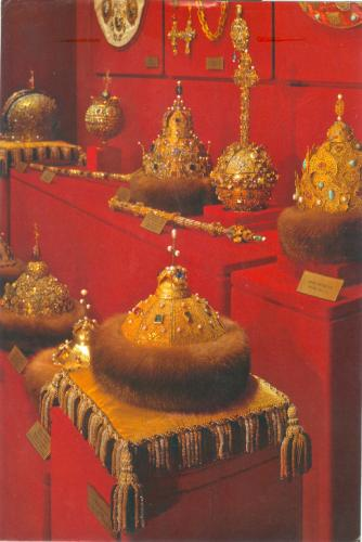 """The Monomach's Cap--symbol of power""