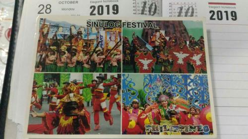 A colourful festive dance and street festival in Cabu city Philippines~~