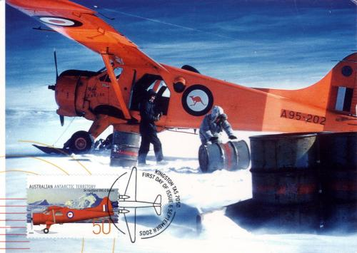 Great postcard with De Havilland DHC-2 Beaver from Australia, thank you! =)