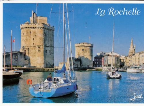 The old harbour ...St Nicholas Tower and the Chain Tower La Rochelle~~