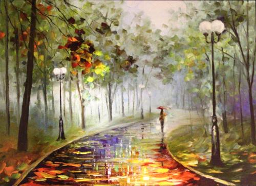 Fog of Passion by Leonid Afremov
