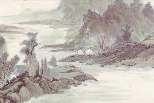 Pretty watercolour painting from China~~
