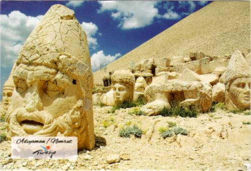 Mount Nemrut, near Adıyaman, Turkey
