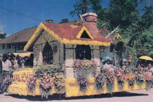 Flower house from Malaysia.