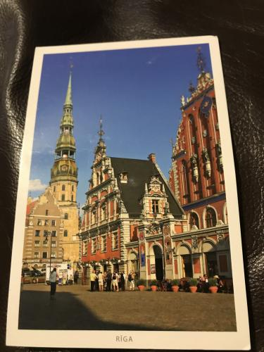 RIGA Latvia Such as awesome place. Thank you! I appreciate the card so much.