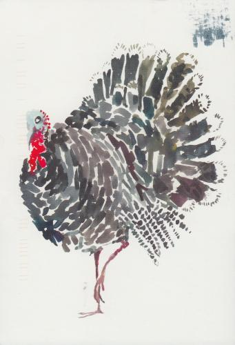 Turkey by Happy Menocal, 2012.