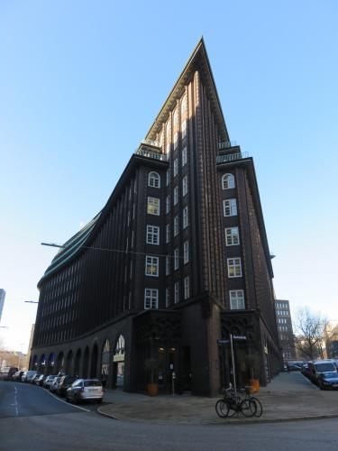 """Speicherstadt(UNESCO)in Hamburg of Germany""
