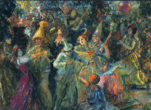 "F. Fogt ""Carnival"", 1935."