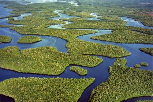 Florida: Everglades National Park.