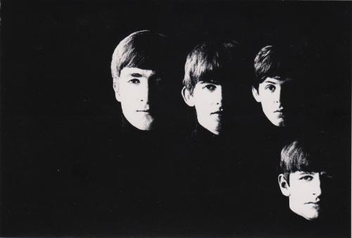 the cover of the second album by the Beatles :D