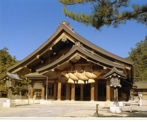 "Japan - ""The outer oratory of the ""Izumo Taisha Shrine"" : Izumo City, Shimane Pref."""
