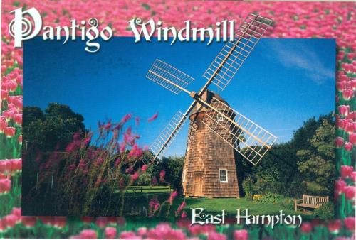 """Pantigo Windmill in East Hampton of US""