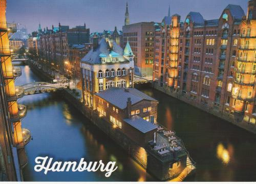 Historic Speicherstadt, Hamburg (Germany)