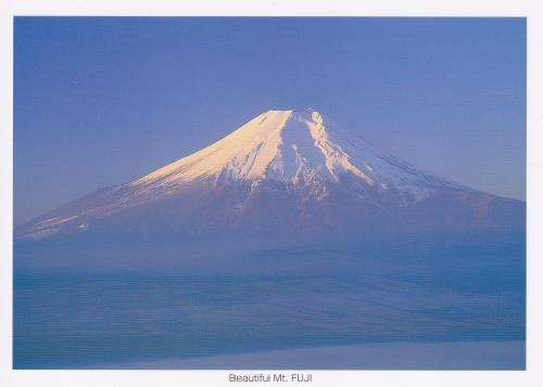 Beautiful Mt. Fuji (A view of Mt.Fuji in the early morning)