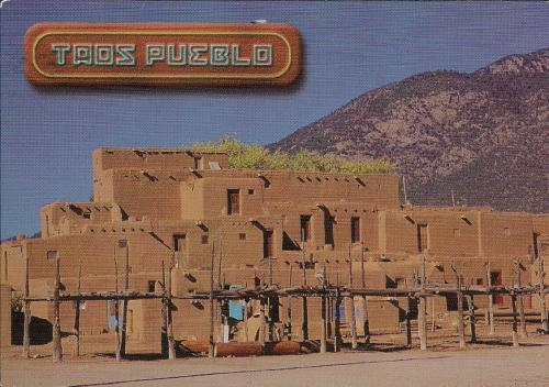 The northern most tribe of the 19 Pueblo Indians of New Mexico, Taos Pueblo members are culturally oriented toward the native life and have established an environmental office to maintain and protect the natural resources of the 89,000 acre reservati