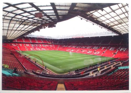 old trafford stadium of Manchester United