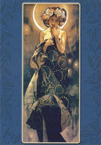 my lovely card by Alphonse Mucha :)