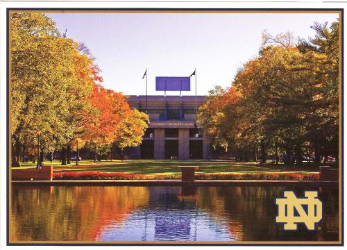 That's the Notre Dame stadium, in Indiana, USA.