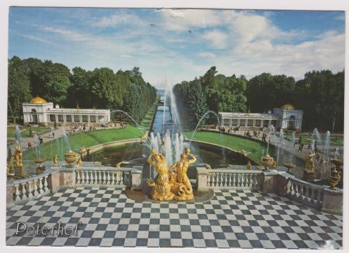 Grand Cascade, Grand Peterhof Palace, St. Petersburg, Russia