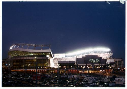 Denver, Colorado: Invesco Field at Mile High, home to the Denver Broncos American football team.