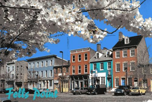 Fells Point, Baltimore, MD -- registered National Historic District