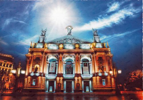 Lviv, Ukraine - Lviv Theatre of Opera and Ballet