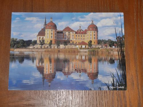 """Moritzburg of Germany,one of the most beautiful castle on the water in the world""