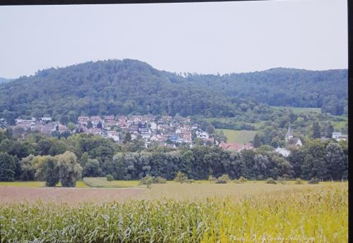Gaby from Oberstenfeld in Germany send this scenic card to me.