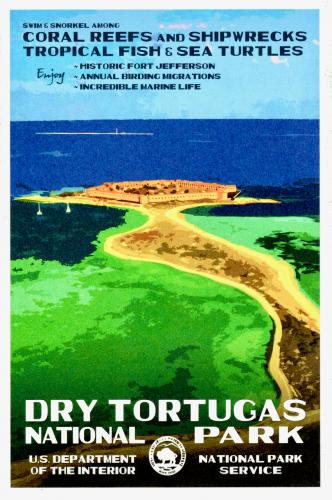 Dry Tortugas National Park, Monroe County, State Florida, U.S.A.