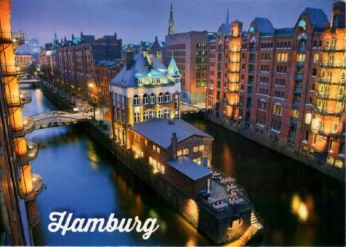 398. Free and Hanseatic City of Hamburg, Speicherstadt - Hamburg