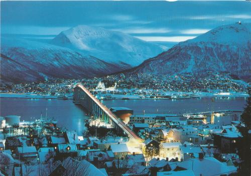 Tromsø, Troms County, Norway (sent from the Ukraine)