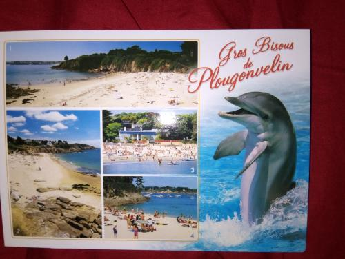 Beattrice from Brest in Brittany, France send this scenic card to me.