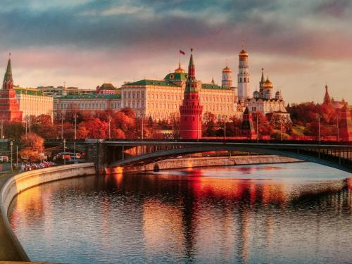 """Beautiful view in Moscow""