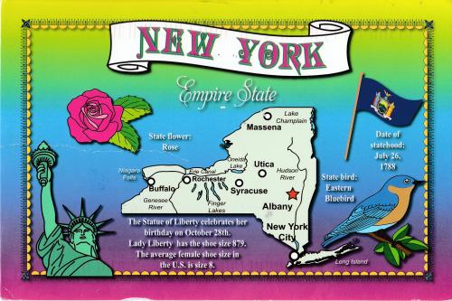 State New York, U.S.A.