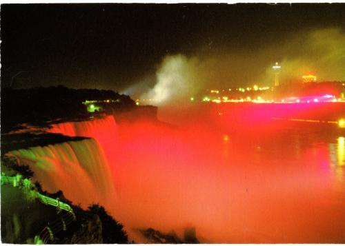Canada: Niagara Falls: Seen from the American side.