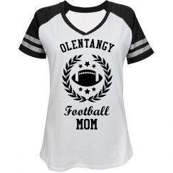 Football Mom School Logo Image