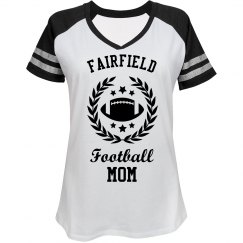 Football Mom School Logo Image