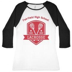Lacrosse Shields Raglan