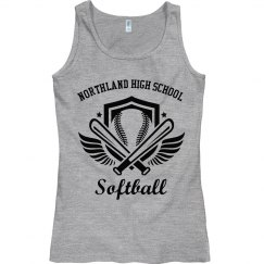 Softball Wings Tank