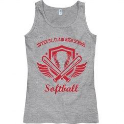 Softball Wings Tank
